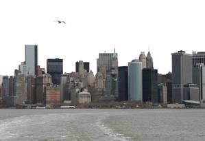 Vista para Manhattan, em Nova York Foto: Eduardo Maia / Agência O Globo