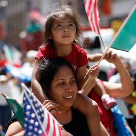Mexicanos compõem grande parte da população hispânica nos EUA Foto: Reuters