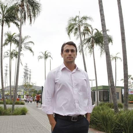 O empresário Paulo Granato, responsável pelo empreendimento, promete agilidade ímpar nos atendimentos Foto: Pedro Teixeira / Agência O Globo