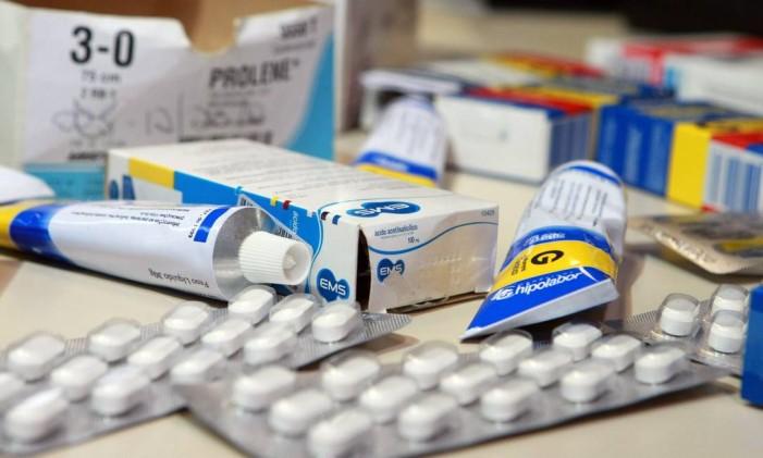 Remédios combatem apenas os sintomas da caxumba Foto: Thiago Lontra / Agência O Globo (14/04/2011)
