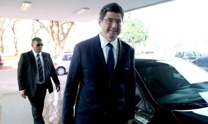 Ministro da Fazenda Joaquim Levy Foto: Ailton de Freitas / Agência O Globo