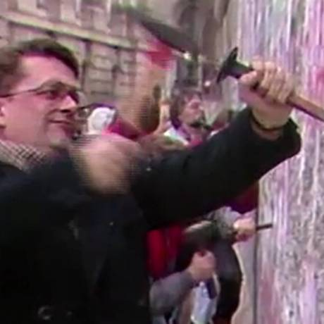 Queda do muro marcou nova era na Europa e no mundo Foto: Reprodução