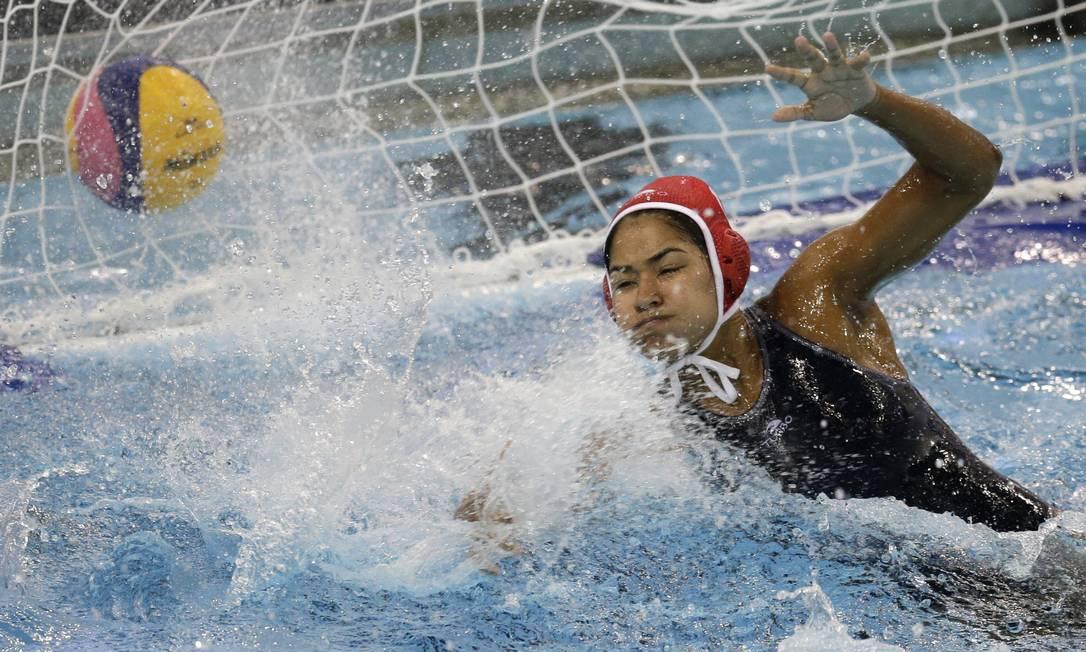 Bola no fundo da rede: gol do Brasil Felipe Dana / AP