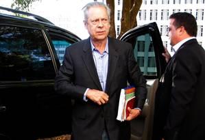 O ex-ministro José Dirceu Foto: Ailton de Freitas/3-7-2014 / Agência O Globo