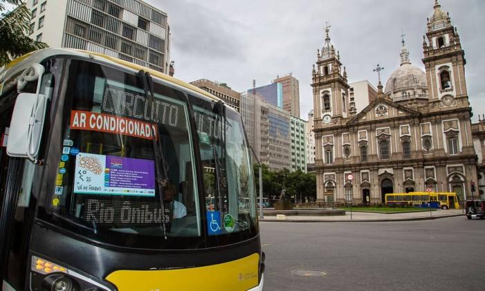Ônibus que faz parte do circuito cultural Rio Ônibus Foto: Arthur Moura / Divulgação