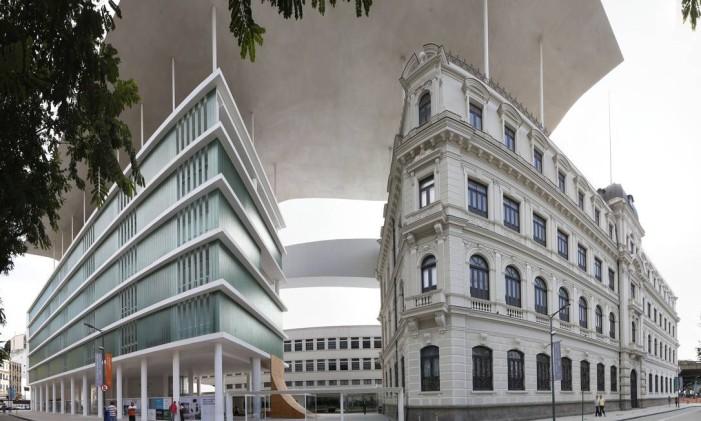 Museu de Arte do Rio (MAR) faz parte do circuito cultural RioÔnibus Foto: Alexandre Cassiano / Agência O Globo