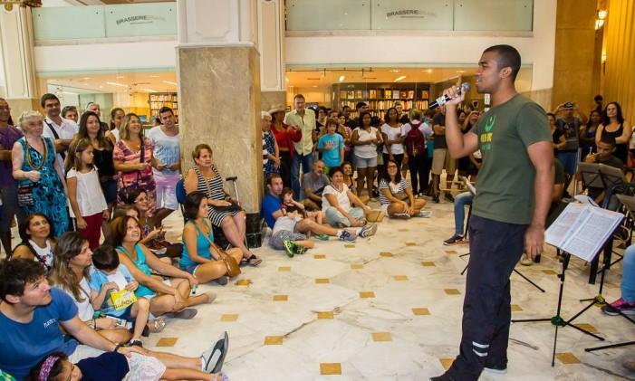 Na edição passado do projeto foi feita uma apresentação musical no Centro Cultural Banco do Brasil Foto: Arthur Moura / Divulgação