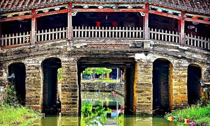 Ponte japonesa em Hoi An, no Vietnã Foto: @kawalk_ / Instagram