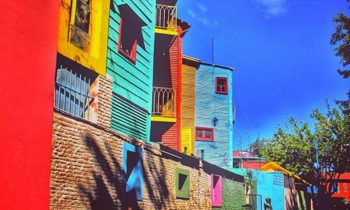 El Caminito, rua tradicional de Buenos Aires, Argentina Foto: @brunonaderphoto / Instagram