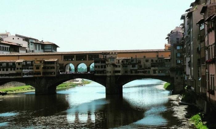 Ponte Vecchio, Florença, Itália Foto: @fatinha_rio / Instagram