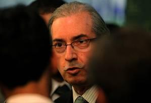 Presidente da Câmara dos Deputados, Eduardo Cunha Foto: Jorge William / Agência O Globo