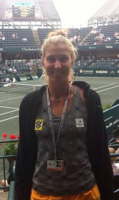 Bia Haddad é outra representante verde e amarelo no tênis Instagram/Reprodução