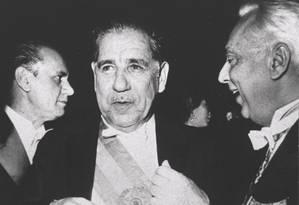 Ex-presidente Artur da Costa e Silva assinou o Ato Institucional número 5 Foto: Arquivo O Globo - 15/03/1967