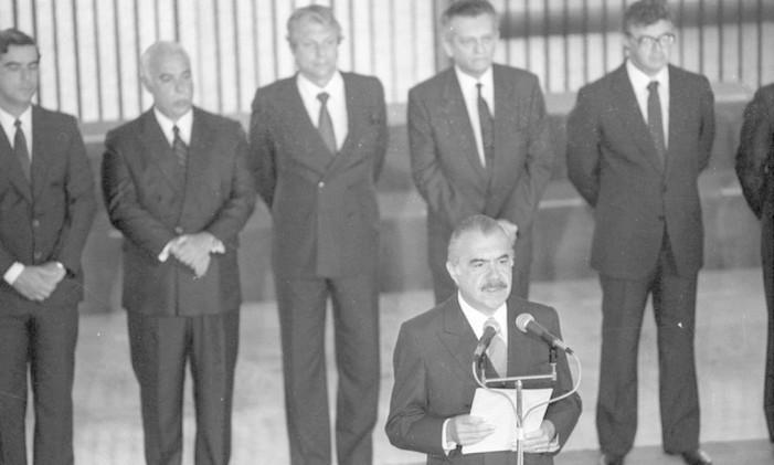 O ex-presidente José Sarney foi alvo de investigação Foto: Arquivo/O GLOBO