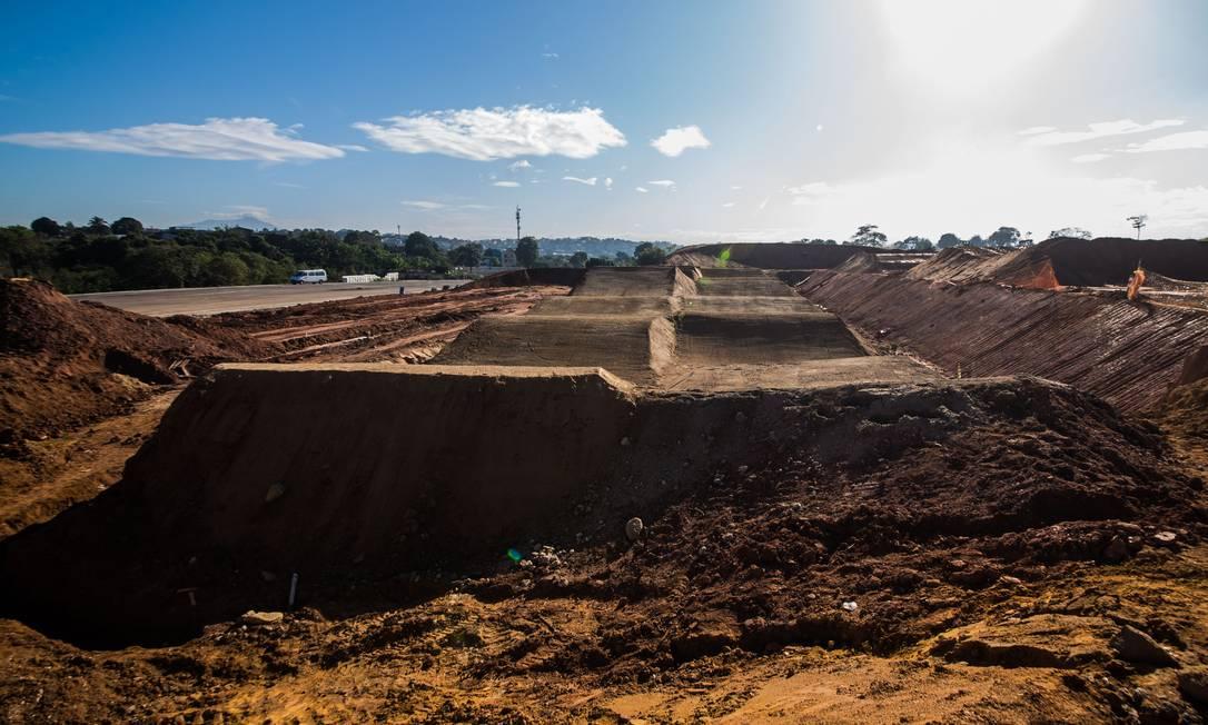 A pista receberá evento-teste de BMX em outubro Renato Sette Camara / Divulgação/Prefeitura do Rio