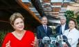 Dilma Rousseff visita o Pavilhão Brasil na Expo Milão 2015