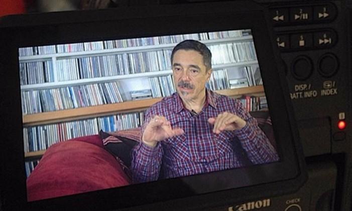 """Charles Gavin é um dos entrevistados do documentário """"Sem dentes"""" Foto: Divulgação"""