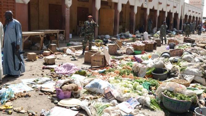 Ataque-suicida na capital do Chade deixa 15 mortos Foto: BRAHIM ADJI / AFP
