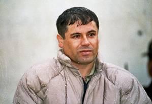 À época de sua primeira fuga, Guzmán já comandava um dos cartéis mais perigosos do mundo Foto: Damian Dovarganes / AP