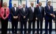 Negociadores em Viena: acordo alcançado