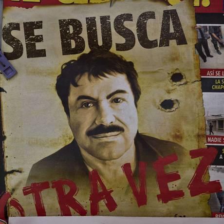 """""""El Chapo"""" já havia fugido outra vez em menos de 15 anos Foto: YURI CORTEZ / AFP"""