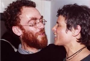 Nando Reis e Cássia Eller Foto: Cristina Granato / O Globo