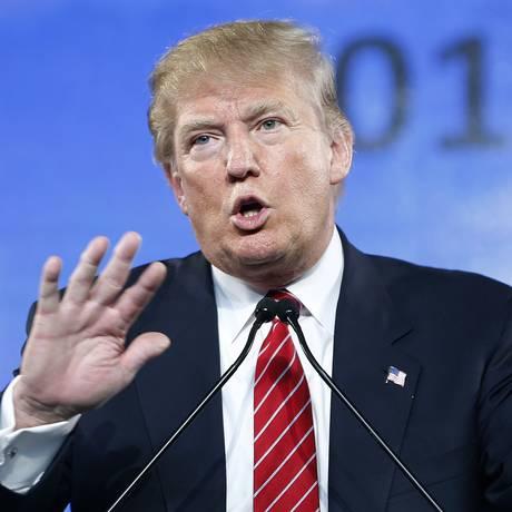 Após polêmicas, Donald Trump subiu nas pesquisas Foto: John Locher / AP