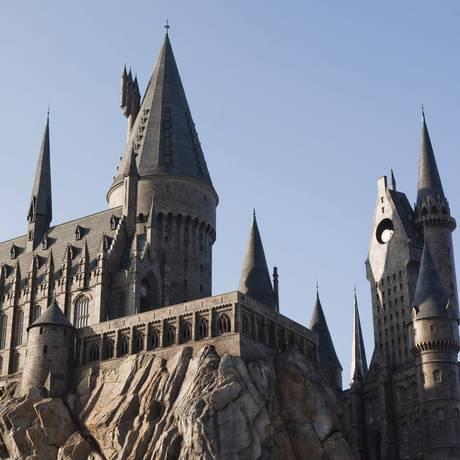 A Escola de Hogwarts recriada em Orlando, Estados Unidos Foto: Divulgação
