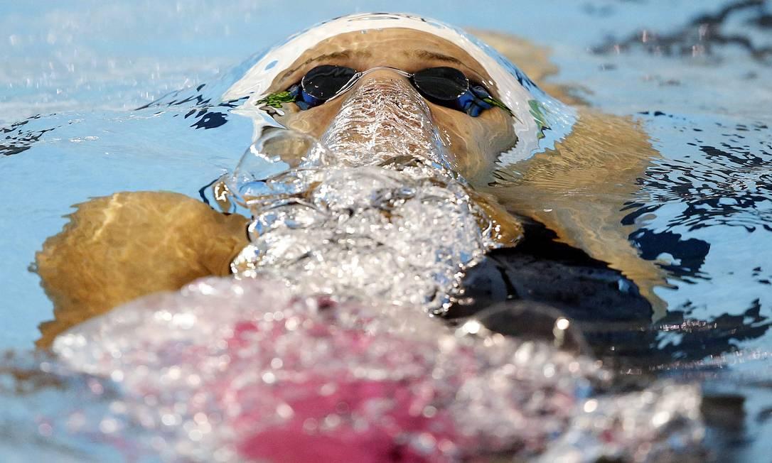 Joanna Maranhão se classifica para a final dos 200m costas Foto: Erich Schlegel / USA Today Sports
