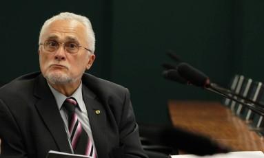 O ex-deputado José Genoino Foto: Ailton de Freitas / Arquivo O Globo