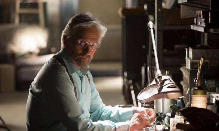Michael Douglas em 'Homem-Formiga' Foto: Divulgação