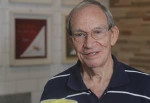 Seu Jerônimo. O segredo da saúde e da disposição aos 83 anos está no X-Filé Foto: Felipe Hanower / Agência O Globo