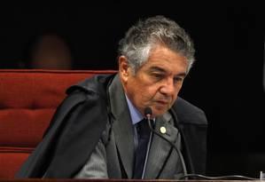 Ministro Marco Aurélio Mello Foto: Jorge William / Arquivo O Globo