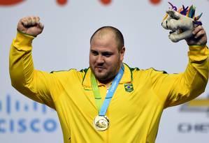 O objetivo de Fernando Reis é brigar por medalha nos Jogos do Rio Foto: HECTOR RETAMAL / AFP