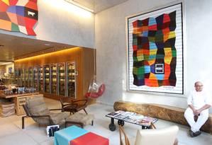 Boutique Gourmet Feed, no Itaim: açougue com cara de lounge Foto: Michel Filho / Agência O Globo