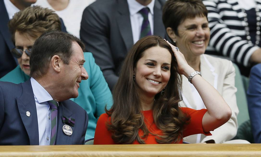 Kate Middleton em Wimbledon Kirsty Wigglesworth / AP