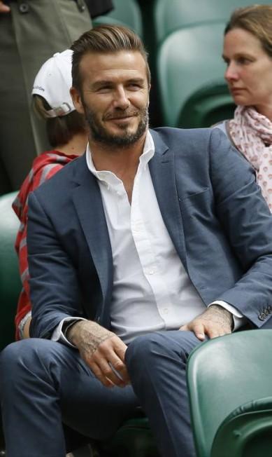 O charme de David Beckham Kirsty Wigglesworth / AP