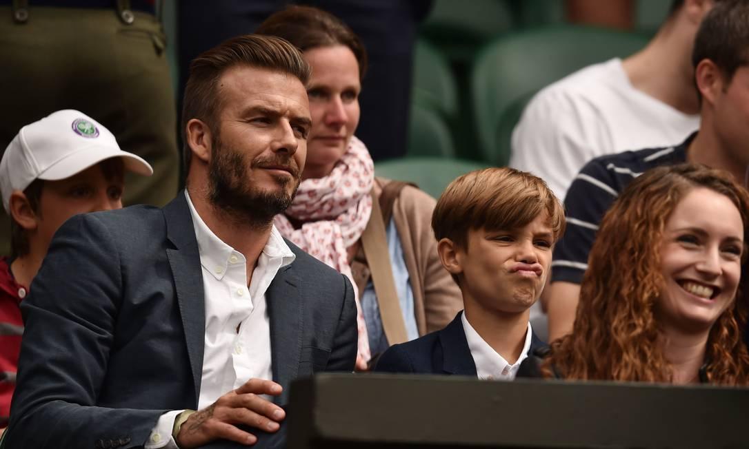 A careta de Romeo foi destaque LEON NEAL / AFP
