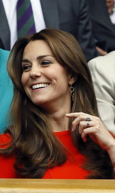 A sorridente Kate Kirsty Wigglesworth / AP