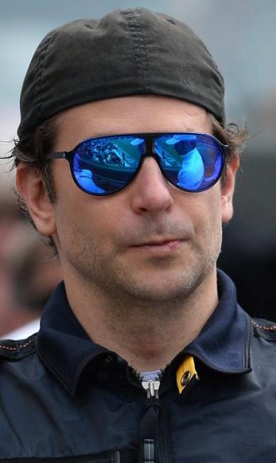 Bradley Cooper em Wimbledon GLYN KIRK / AFP