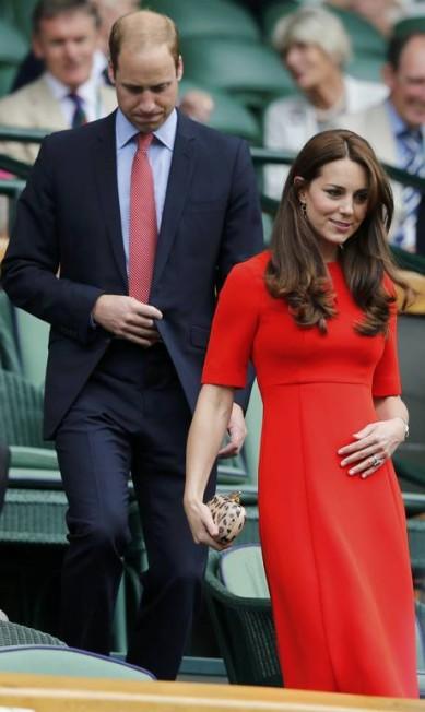 Kate e William em Wimbledon SUZANNE PLUNKETT / REUTERS