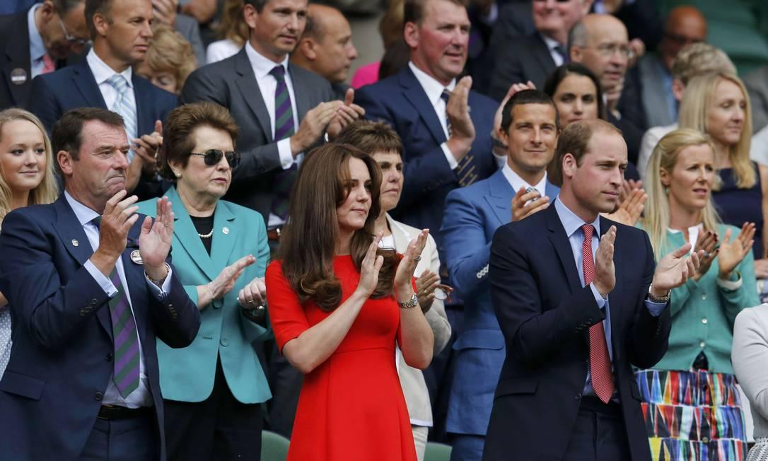 Mais de Kate e William SUZANNE PLUNKETT / REUTERS