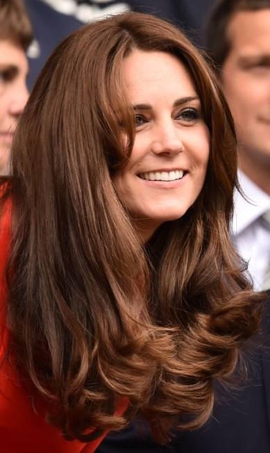 A beleza de Kate Middleton LEON NEAL / AFP