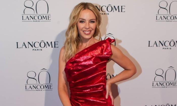 Mais do look de Kylie Minogue Foto: Kamil Zihnioglu / AP