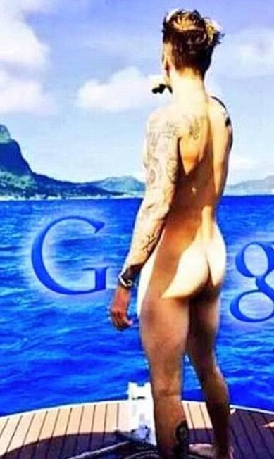 Uma das mais divertidas foi essa, que aplicou a marca Google na imagem Reprodução