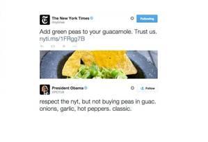 Publicação do NYT e resposta de Obama Foto: Reprodução