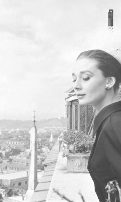 Audrey em Roma, retratada por Cecil Beaton em 1960 Divulgação / National Portrait Gallery