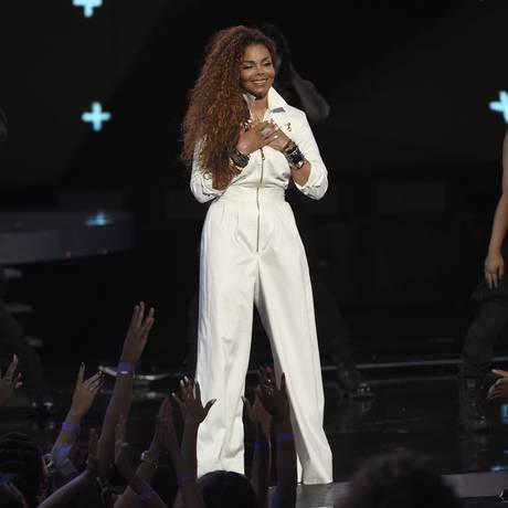 Janet Jackson no BET Awards Foto: Chris Pizzello / Chris Pizzello/Invision/AP