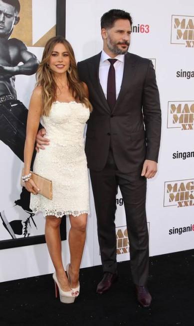 "Na última quinta-feira, Sofia Vergara e Joe Manganiello foram os destaques da première do filme ""Magic Mike XXL"", na Califórnia Paul A. Hebert / Paul A. Hebert/Invision/AP"