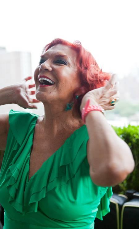 """""""I'm back"""", anuncia Carmen D'Alessio, que é promoter às quintas-feiras no Dream Hotel, em Nova York Bea da Costa"""